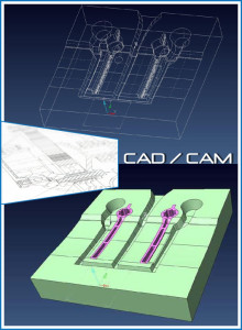 CAD CAM Entwicklung / Konstruktion